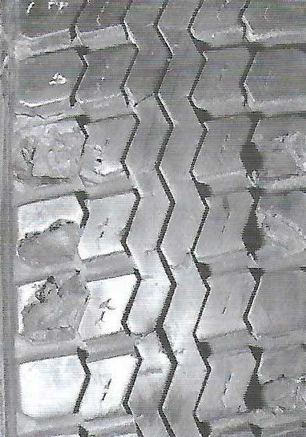 3 - Corte e/ou quebra do bloco da rodagem